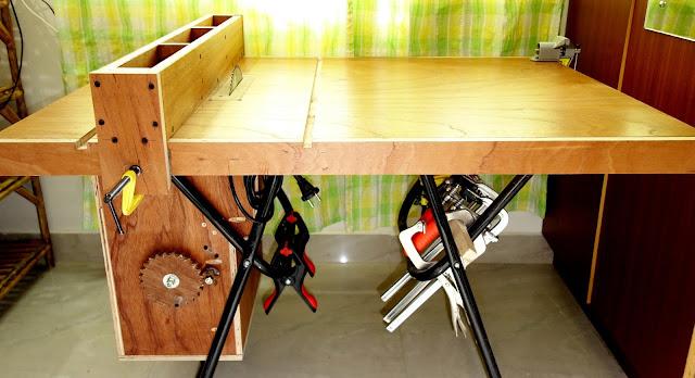 Homemade Table Saw (WIP) | Do The DIY