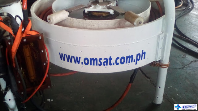 Die-Cut Vinyl Stickers - OMSAT Philippines
