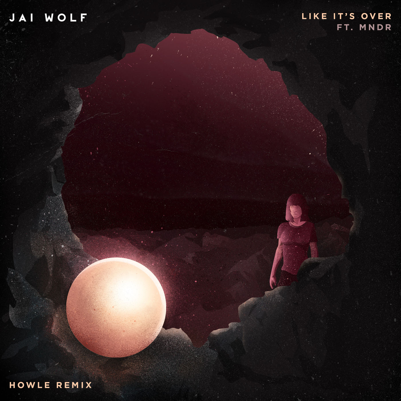 Jai Wolf - Like It´s Over (Howle Remix) [feat. MNDR] - Single Cover