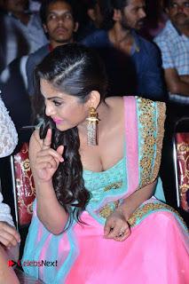 Actress Naina Ganguly Stills in Long Dress at Vangaveeti Audio Launch  0091.JPG