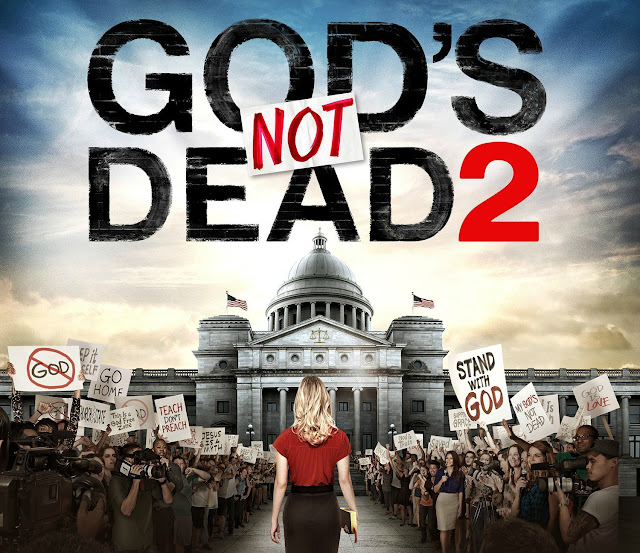 Review of God's Not Dead 2 and a God's Not Dead 2 prize pack giveaway. #giveaway #GodsNotDead #GodsNotDead2