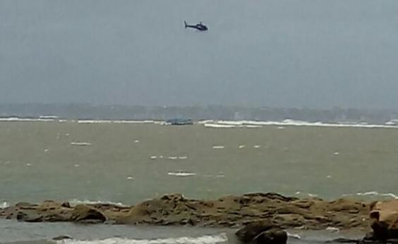 Marinha confirma que não havia tripulantes em embarcação à deriva na Baía de Todos os Santo