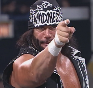 WCW Souled Out 1998 - Randy Savage faced Lex Luger in the main event