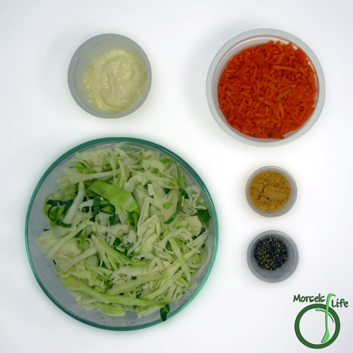 Morsels of Life - Tex Mex Cole Slaw Step 1 - Gather all materials.