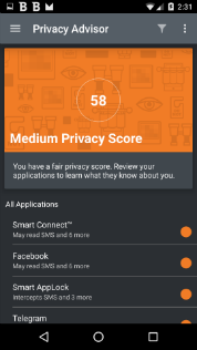 Latest Privacy Advisor technology is capable of giving you the detailed info as to what your installed apps are doing in the background without your knowledge that also informs you when apps access the Internet without your knowledge and download unwanted data