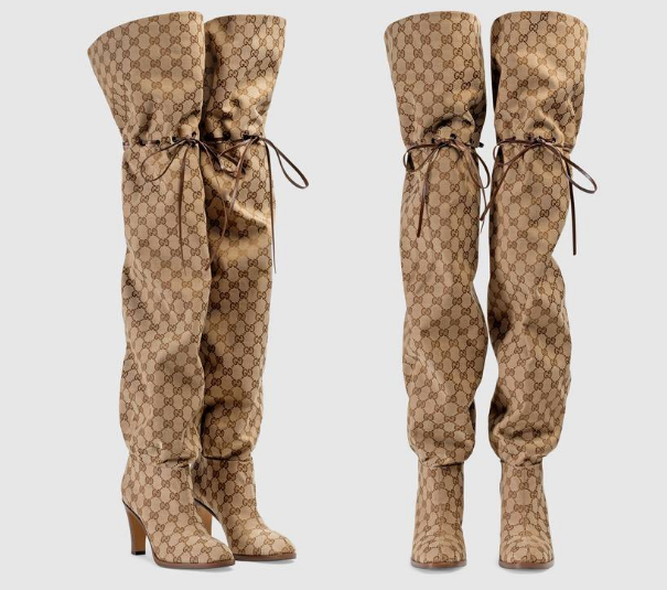 d197f3cefa7 With Nay  HOTBUYS GUCCI INSPIRED OVER THE KNEE BOOTS