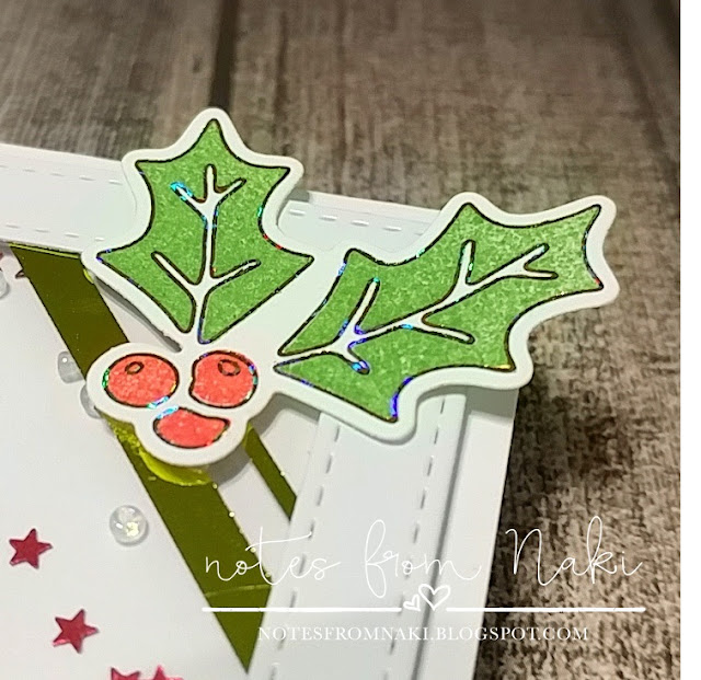 Therm-O-Web Gina K. Designs StampnFoil Holly Jolly Set - Naki Rager