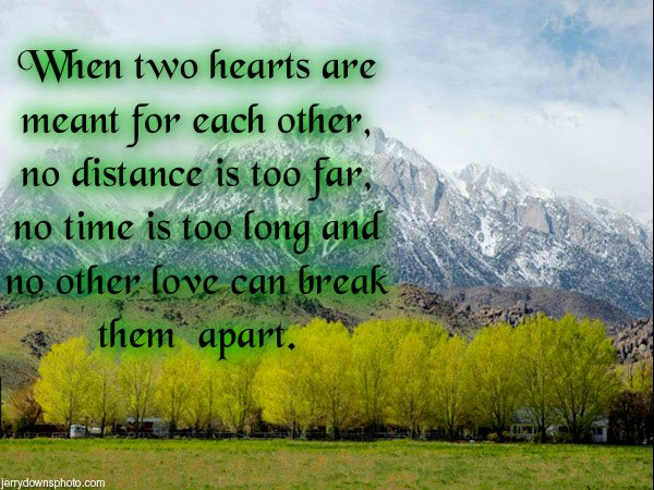 Love Each Other When Two Souls: Intercultural Mix: Two Hearts Meant For Each Other