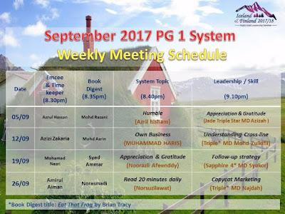 PG1System, kelas, seminar, belajar