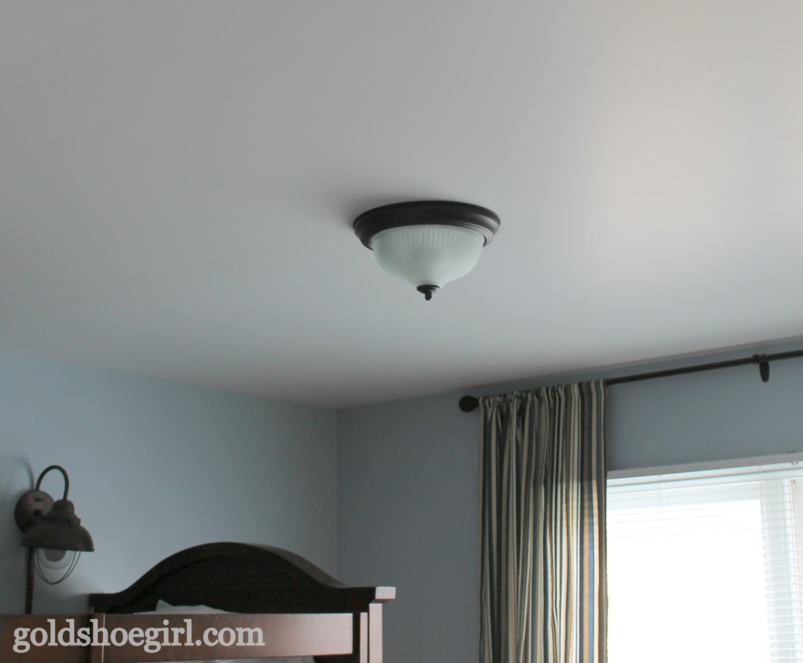 Ceiling Light For Baby Boy Room Gold Shoe Girl Boy 39s Bedroom Before And After