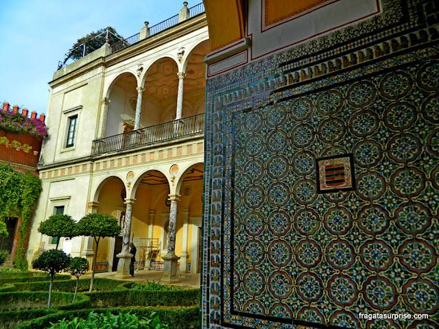 Jardim da Casa de Pilatos, Sevilha