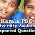 Kerala PSC Model Questions for University Assistant Exam 2019 - 88