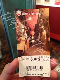 Ramen Museum ticket