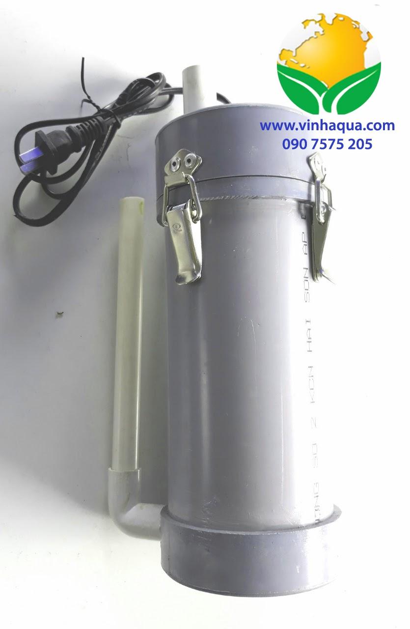 Lọc chế thủy sinh PVC phi 90 9W 520 lít/giờ