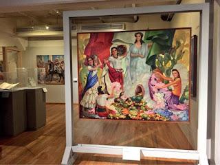 "Vista de la Exposición ""Calendarios Mexicanos"""