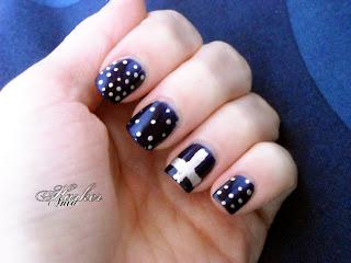 nu goth nails