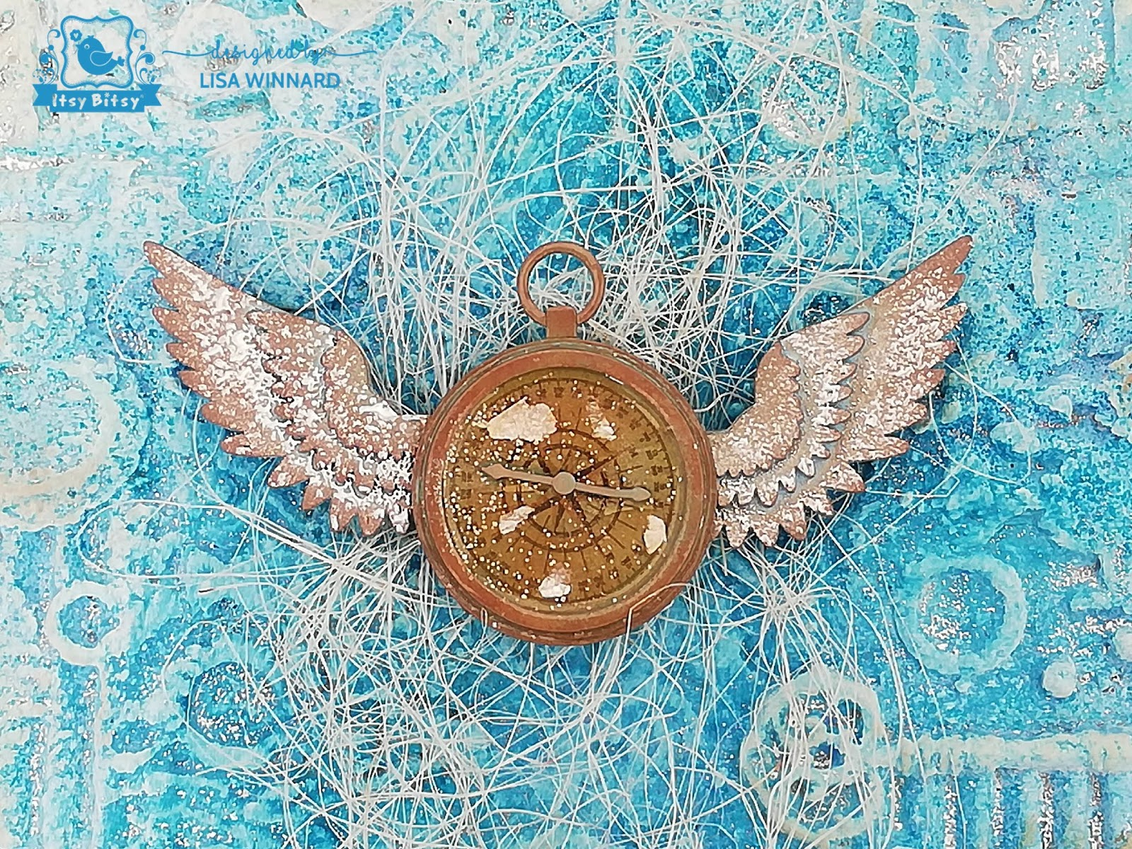 Lisa Makes...: Winged Compass
