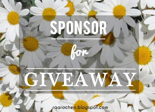 Pencarian Sponsor For Giveaway 2014