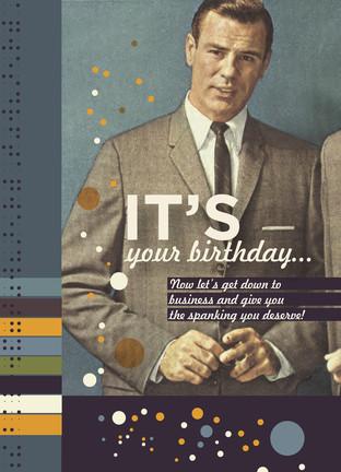 Funny Retro Birthday Cards