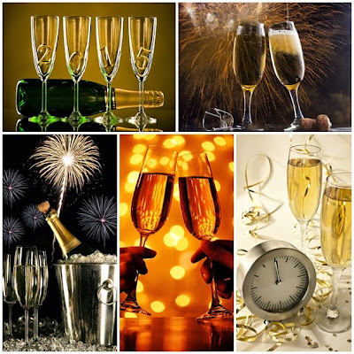 Fondos Brindis Año nuevo HD