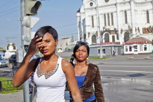 Shocking footage shows Nigerian prostitutes viciously