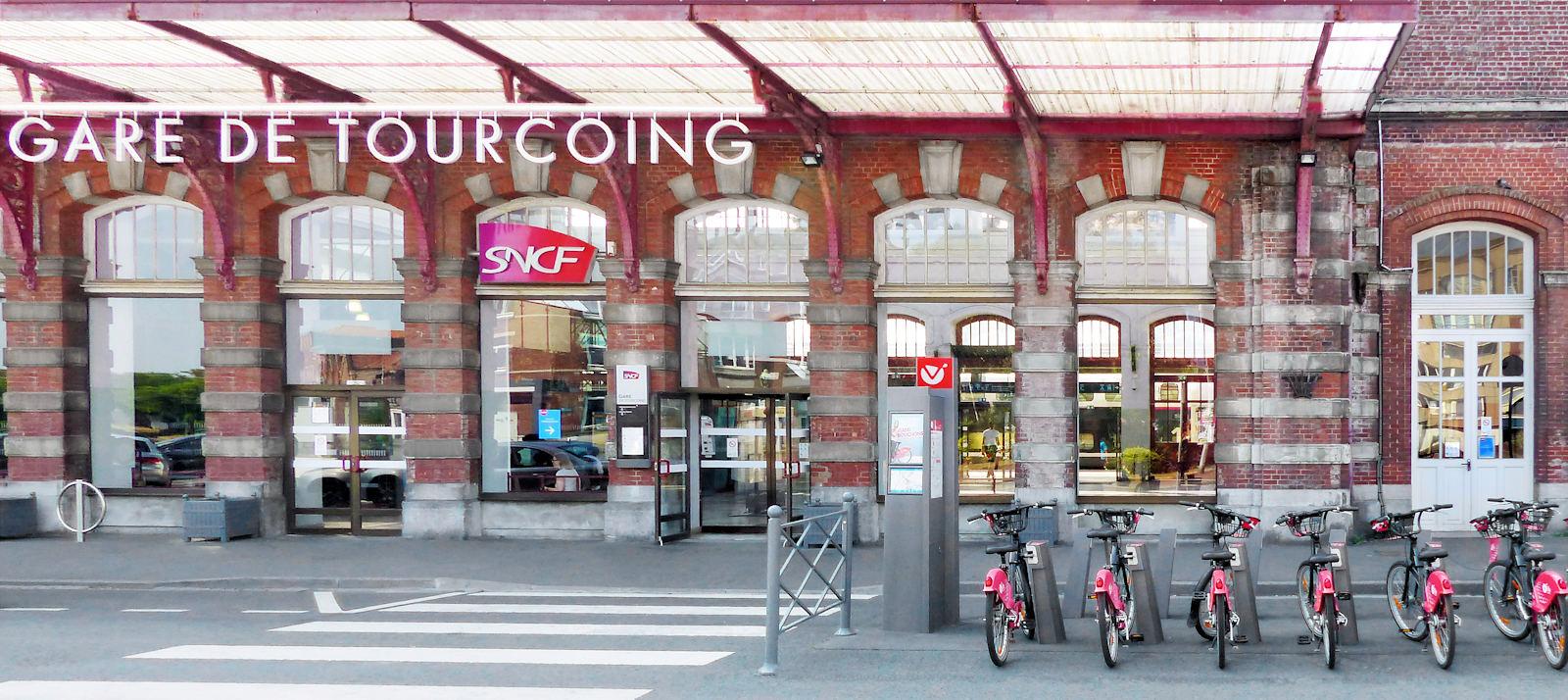 "V'Lille Tourcoing - Station ""Gare"""