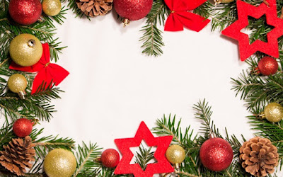 Free Merry Christmas Borders PNG Images Vector Clipart