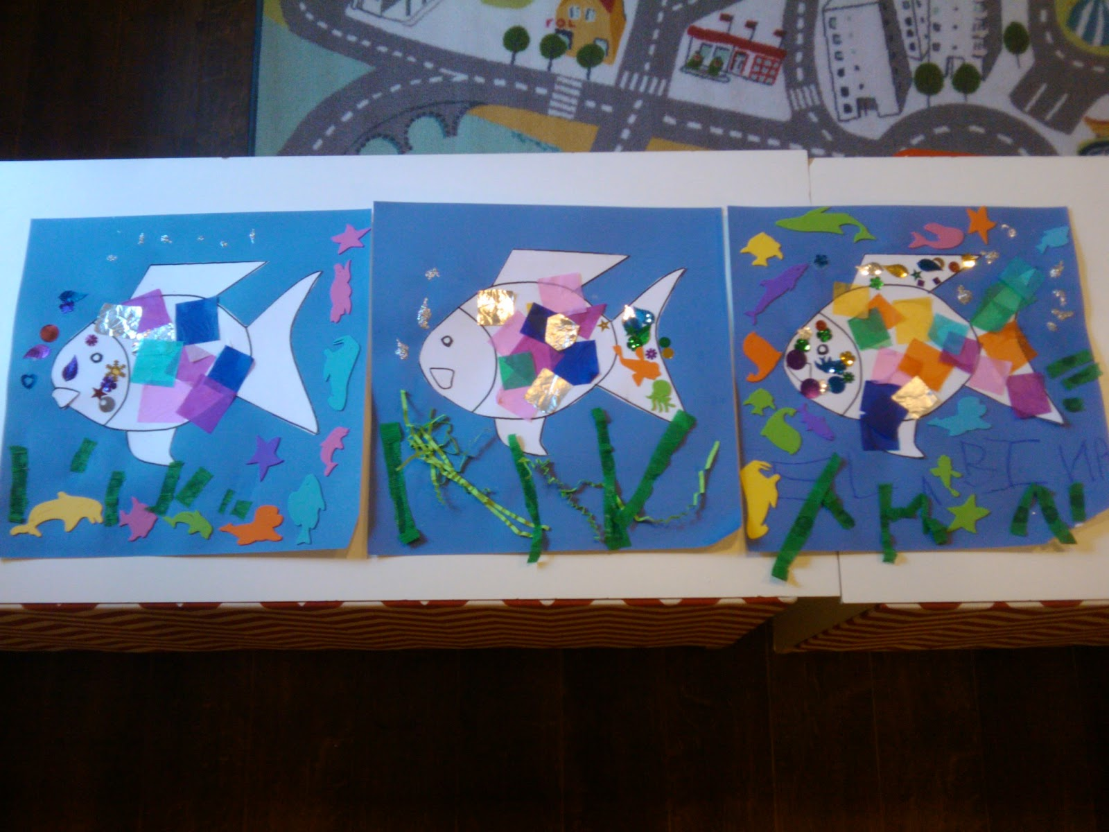 Morning Light Preschool Rainbow Fish