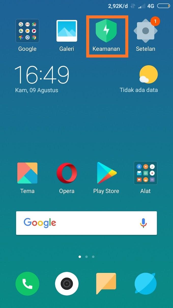 Cara membatasi penggunaan data internet di Xiaomi