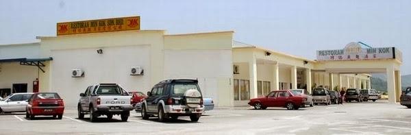 open parking to restaurant