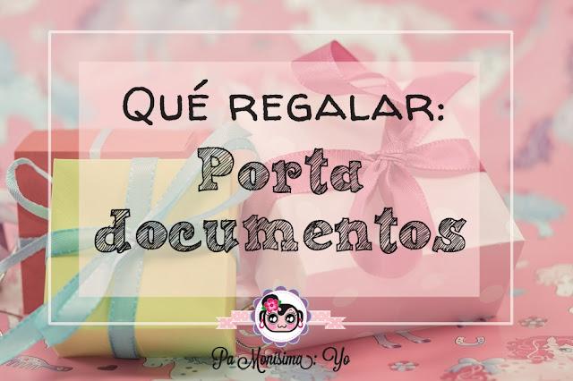 Regalar bebé Porta documentos Monerías pamonisimayo