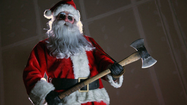 santa claus satan evil monster scary blood