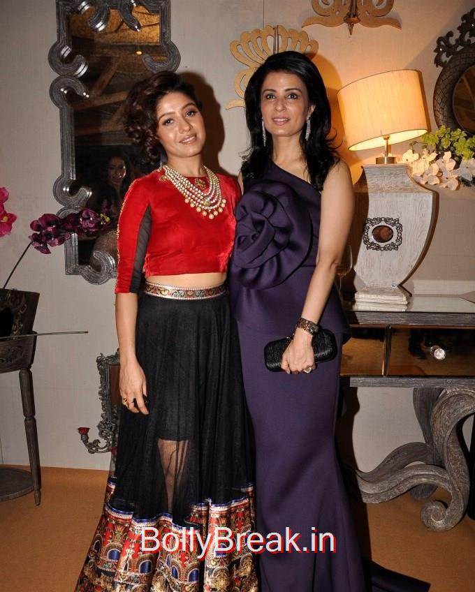 Sunidhi Chauhan, Divya Gurwara, Anchal, Evelyn, Arpita at Bridal Asia Show Media Preview