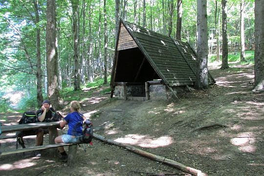 Przełęcz Woliborska (niem. Volpersdorfer Plänel; 711 m n.p.m.).