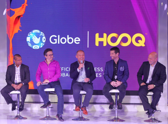 Philippines is now HOOQ'd , in partnership with Globe