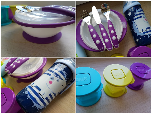 Naczynia dla dziecka NUK