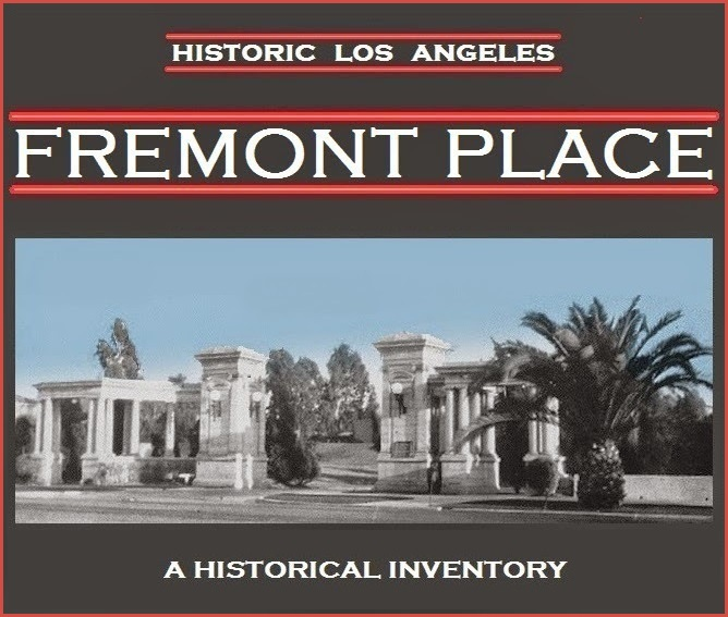 FREMONT PLACE Historic Los Angeles