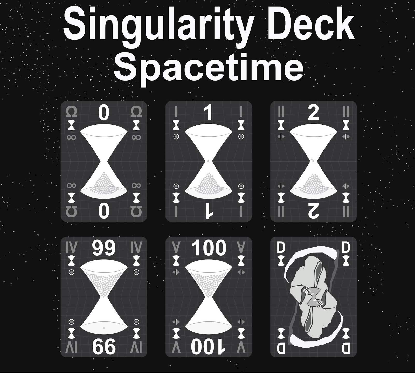 The Singularity Deck - Spacetime Art