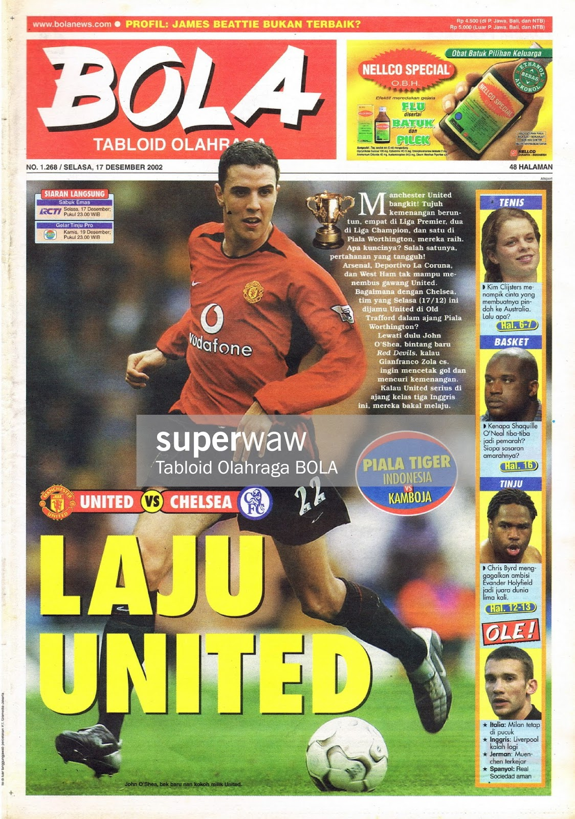 TABLOID BOLA LAJU UNITED