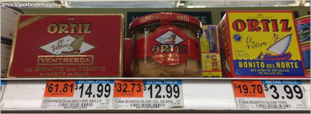 Conservas Españolas en los Comercios de Massachusetts