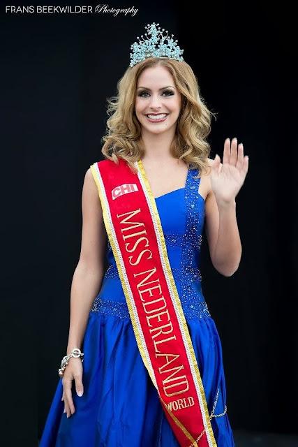 Nathalie den Dekker, Miss International Netherlands 2013 ...