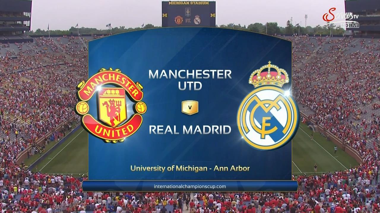 Horario y dónde ver: Real Madrid - Manchester United