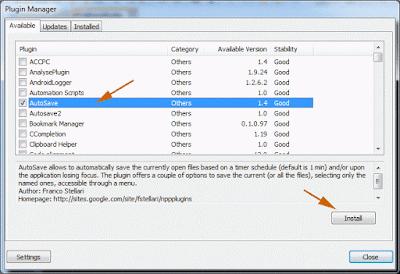 11 Plugin yang wajib untuk meningkatkan kinerja Notepad ++, Cara install plugin di Notepad++