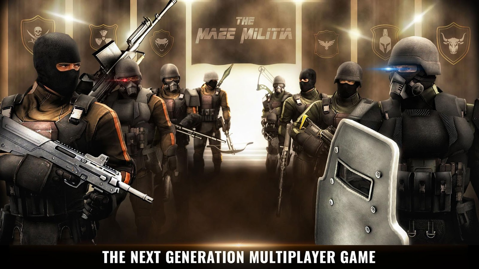 MazeMilitia LAN Online Multiplayer Shooting Game MOD APK