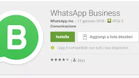 Come funziona l'app Whatsapp Business (gratis) per Android