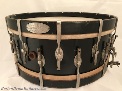 1923 Geo B. Stone % Son Master-Model snare drum