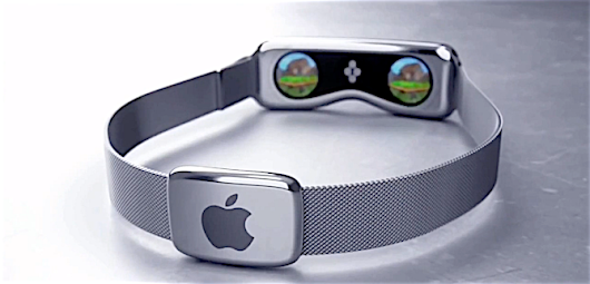 apple vr headset. apple watch transformed into an vr headset, possible coming in 2017, iwatch hints and vr headset