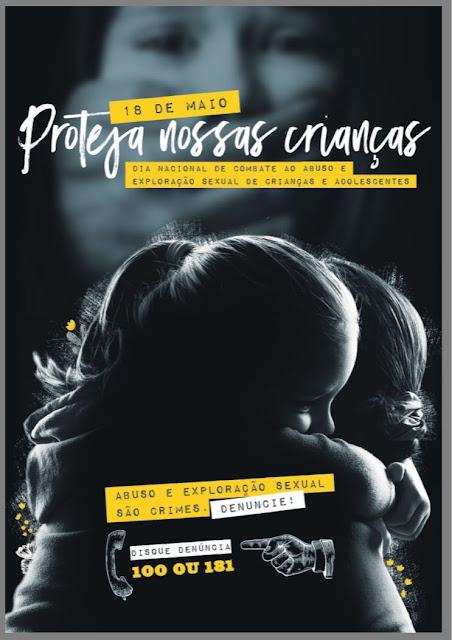 CRAS DA ILHA COMEÇA ARTICULAR CAMINHADA EM 18/05 - DIA NACIONAL DE COMBATE AO ABUSO E EXPLORAÇÃO SEXUAL DE CRIANÇAS E ADOLESCENTES