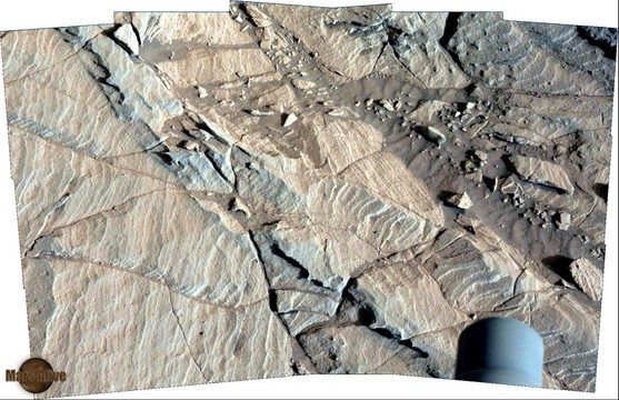 Sol 1127 Pahrump Hills Curiosity Left Mastcam (M-34)