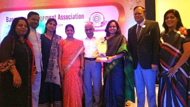WeSchool Bengaluru awarded with 'BMA Academic Excellence of the Year 2016 Award' by Bengaluru Management Association
